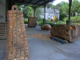 Photo of Belmont Mill Sculpture Yard