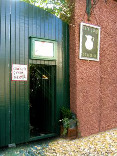 Entrance to The Tin Jug Studio Gallery
