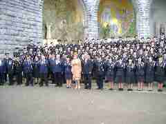 Presidential Photo Civil Defence Lourdes 2009
