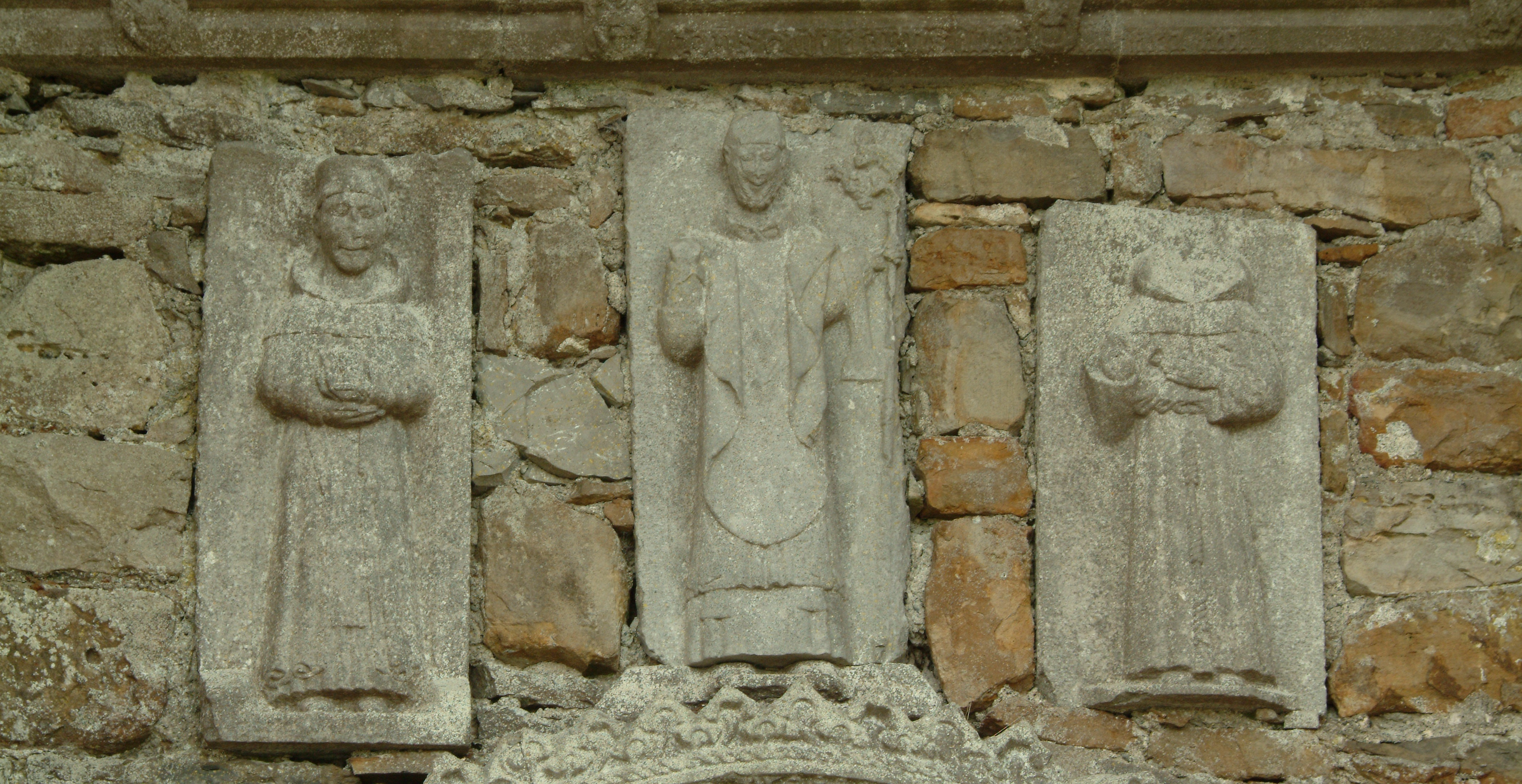 Detiail from Clonmacnoise cathedral