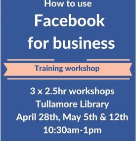 Facebook Workshop in Tullamore Library