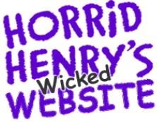 Horrid Henry's wicked website