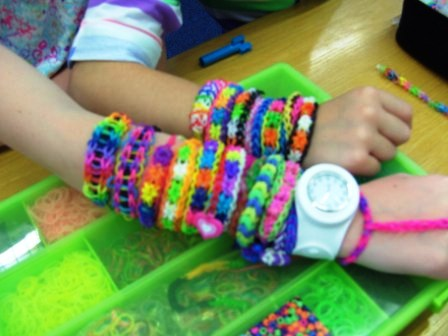 Loom Bands in Clara Library