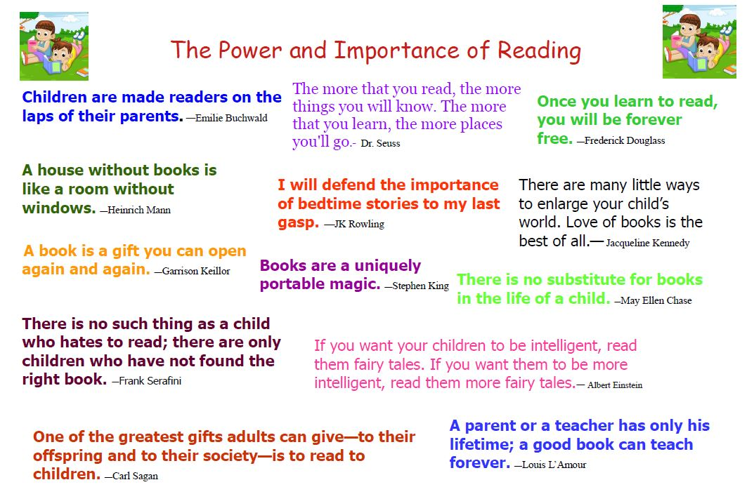 The Importance of Reading poster
