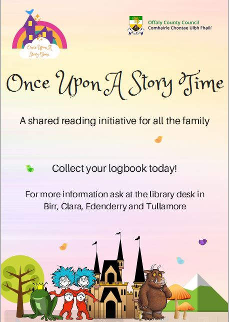 Once Upon A Storytime @ Banagher, Birr, Edenderry & Tullamore Libraries