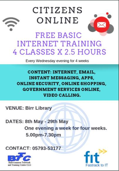 Courses at the Library - Offaly County Council
