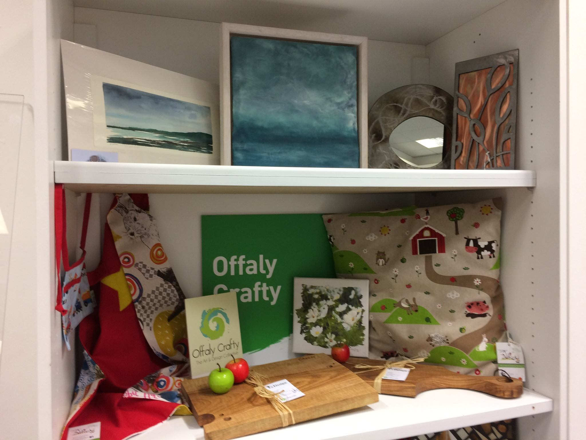 Offaly Crafty Art Display