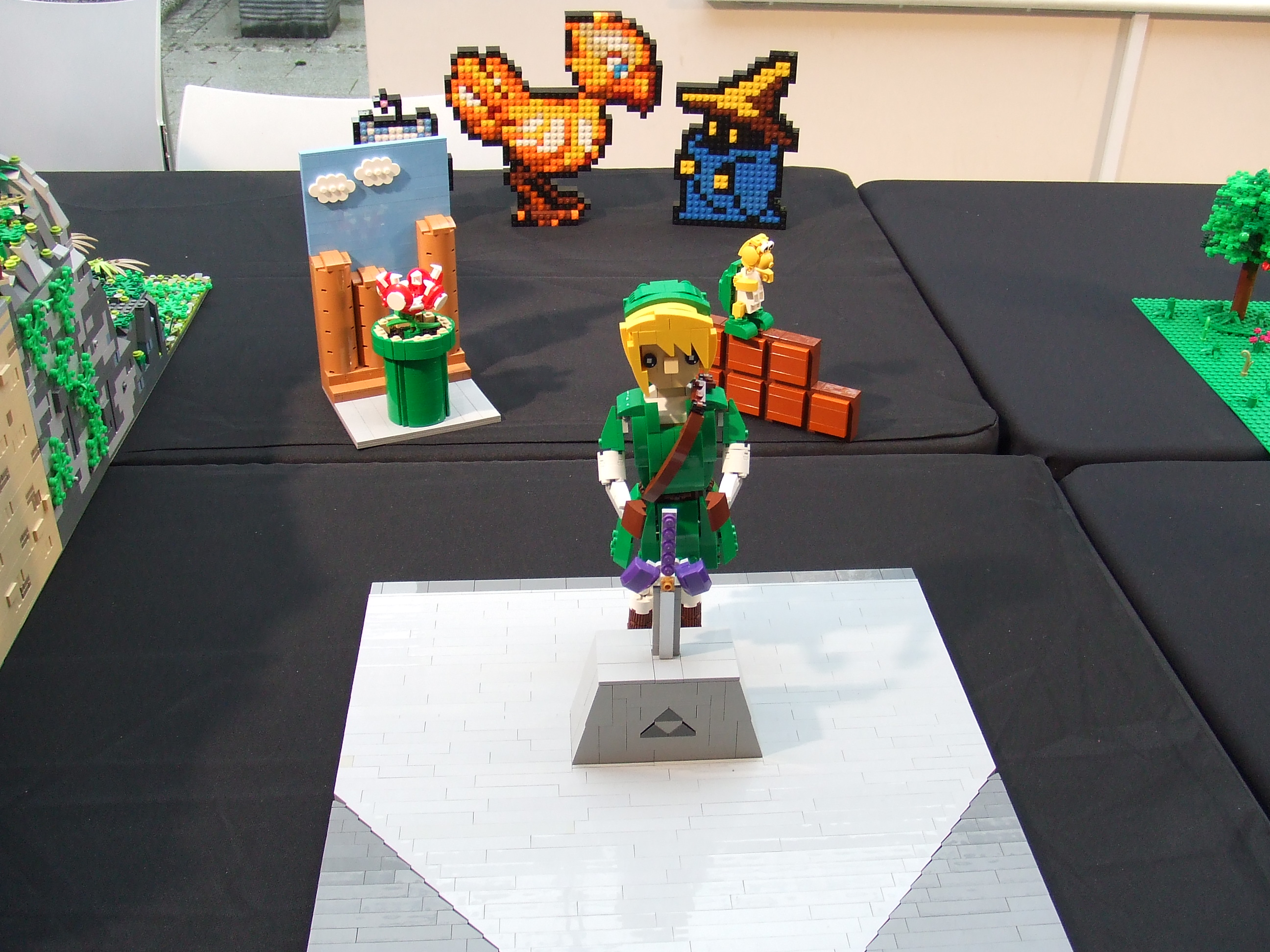 Birr Library Lego Exhibition - all by Jessica Farrell