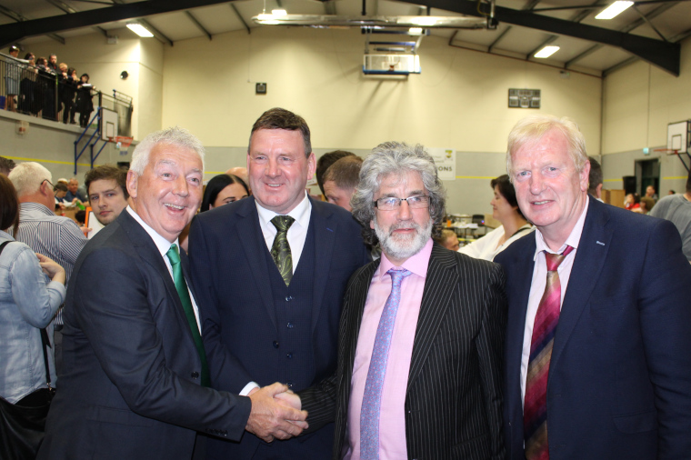 Offaly Councillors at Count Centre