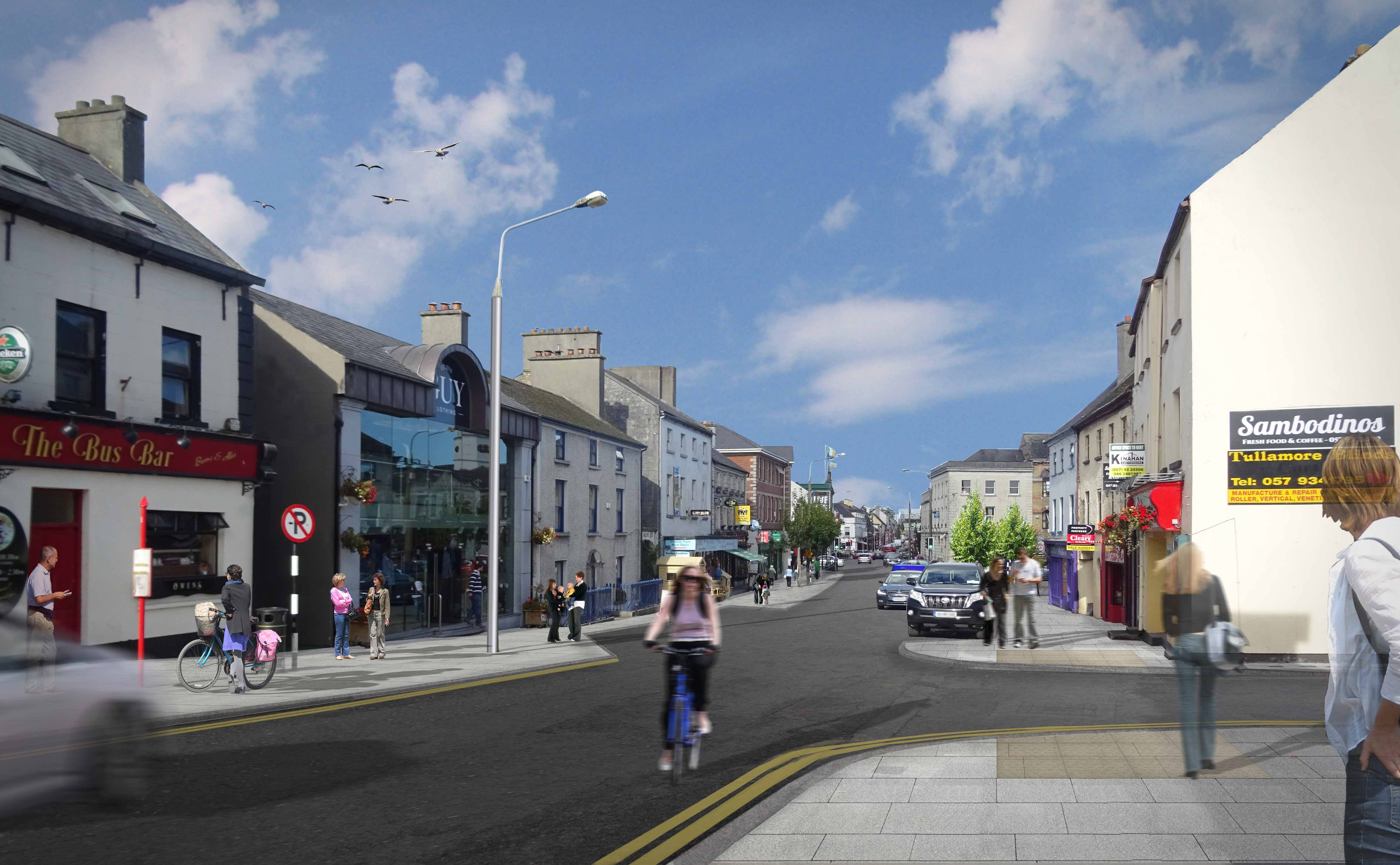 Tullamore Public Realm Works Image 2