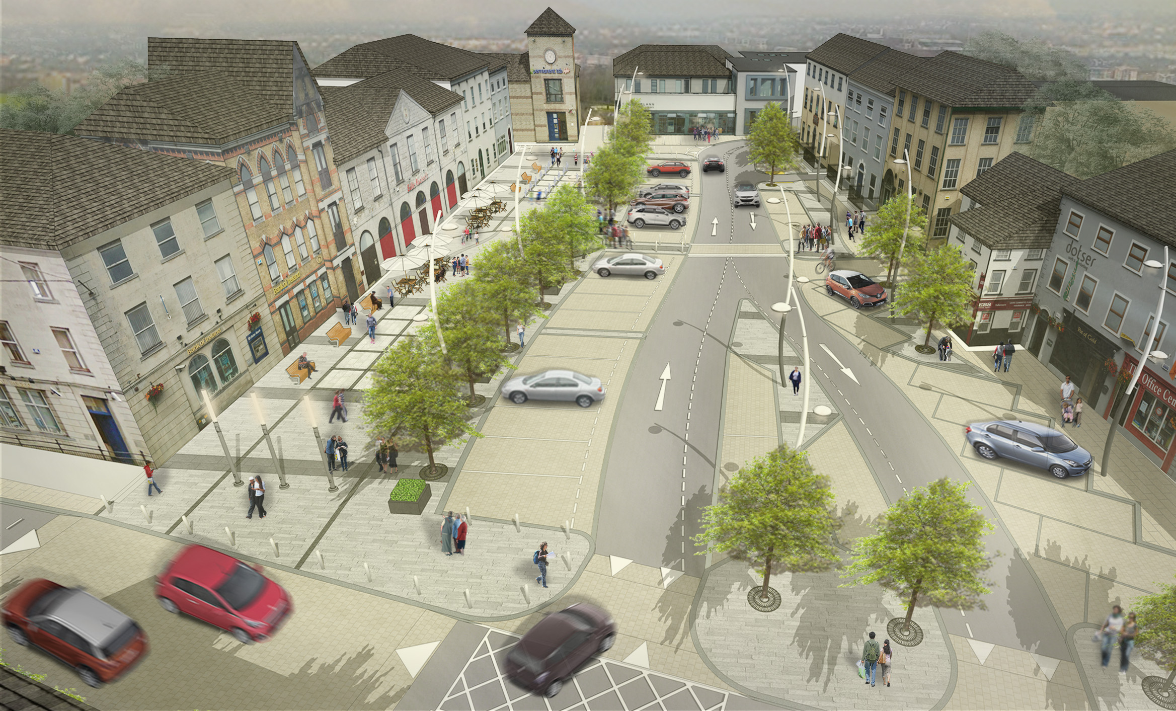 Tullamore Public Realm Works Image 3