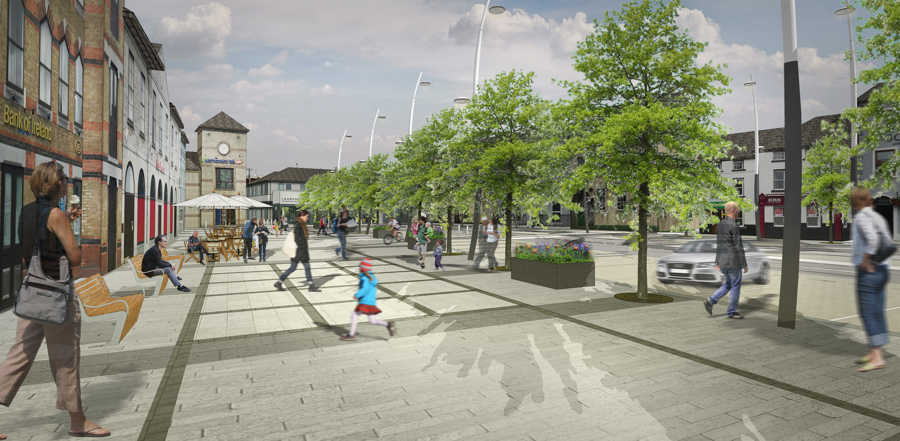 Tullamore Public Realm Works Image 4