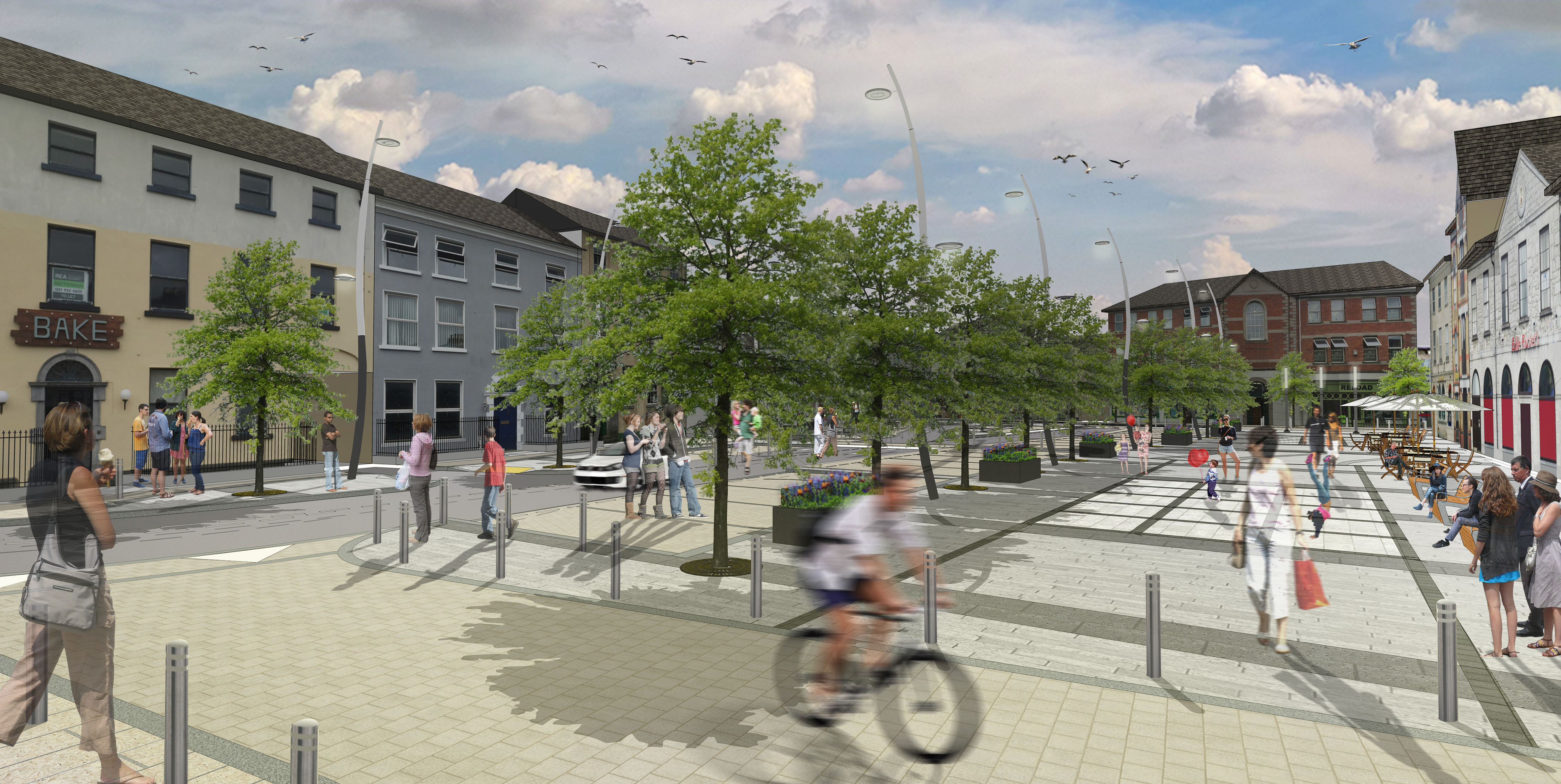 Tullamore Public Realm Works