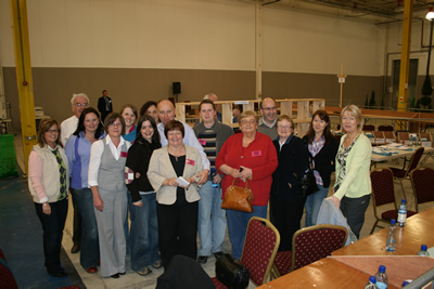 Tullamore LEA Counting Team